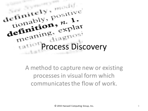 Process Discovery Definition